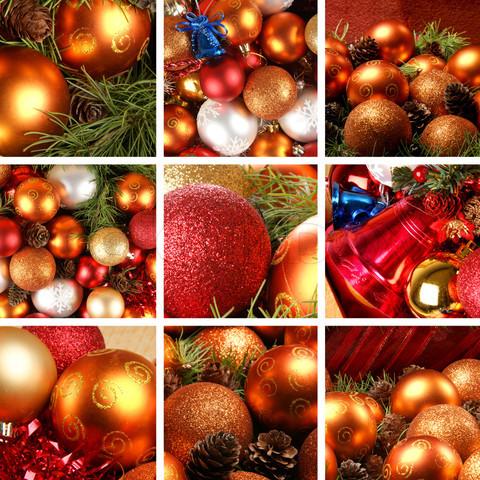 Kalėdų koliažas