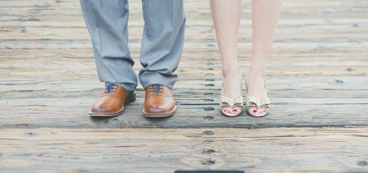 vyras ir moteris, kojos